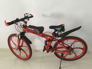Qitheli mountain bike 24speed