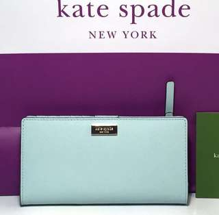 Kate Spade (brand new authentic) Stacy warna blue tale