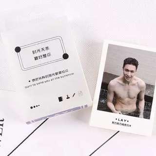 EXO LAY Lomo Cards