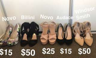 Various shoes for sale