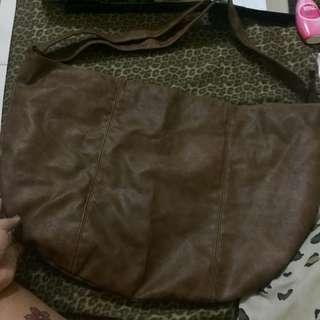 Genuine Leather Big Sling Bag