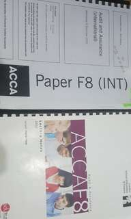 Acca Audit and Assurance F8/AA
