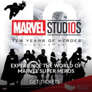 Marvel Studios - ArtScience Museum™ Singapore