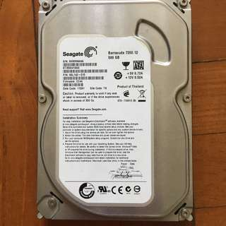 WD 250Gb HDD & Seagate 500Gb HDD