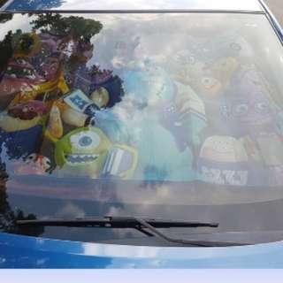 怪獸大學  車用遮陽板