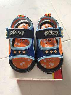 Brand new Mickey Mouse sandals