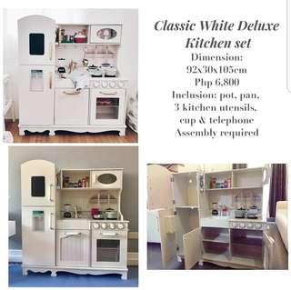 Grand White Kitchen Playset