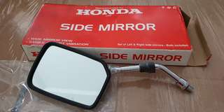 Unused Honda motor cycle side mirror for sales