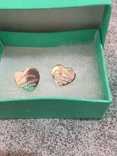 Silver earrings Tiffany