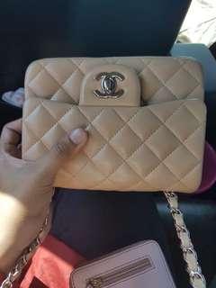 Chanel mini flap rec Mirror QuaLity 1:1