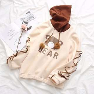 Teddy Bear Hoodie Thick Cotton