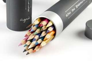 agnès b. 40 周年限量彩色鉛筆組
