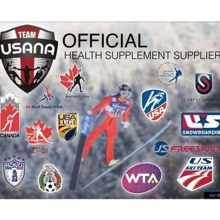 Champions choose USANA!