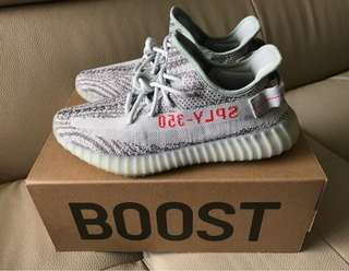 Yeezy Boost 350 V2 Blue Tint US9.5