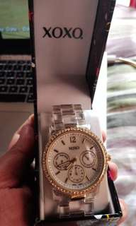 XOXO Transparent watch
