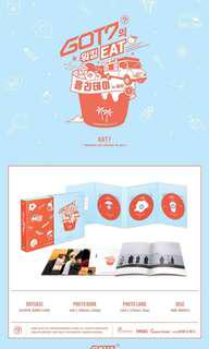 [PRE ORDER] GOT7 - WORK, EAT, HOLIDAY IN JEJU DVD