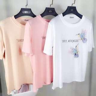 Glitter Sequins Design T-Shirt