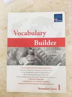 Secondary vocabulary assessment books
