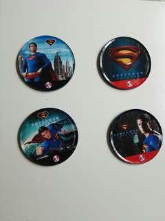 Superman Cup Coasters
