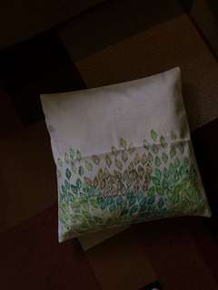 Handpainted pillow covers