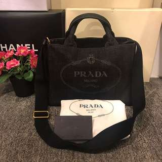 Prada denim small Canapa