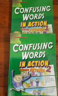 Confusing words in action 1, 2