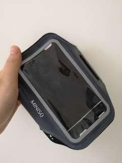 Phone arm holder
