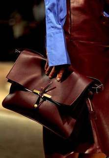 Sale❤️Celine Clasp Foldover bag clutch
