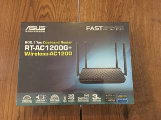 Asus Wireless Router RT-AC 1200 G+