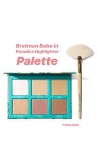 Limited Edition Morphe x Bretman Babe in Paradise Highlighter Palette
