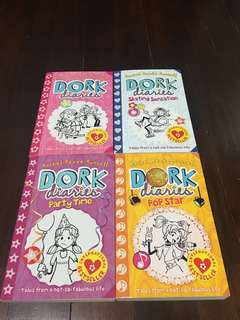 Dork Diaries books 1-4