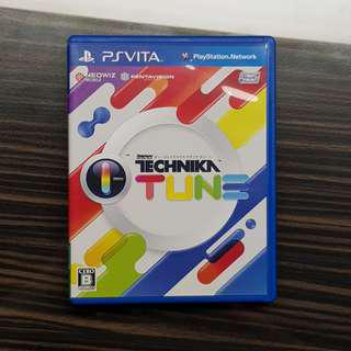 PS Vita DJMax Technika Tunes