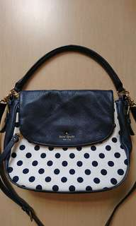 98% new Kate Spade hangvag, with two straps