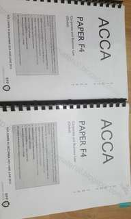 Acca f4 global business law
