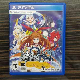 PS Vita MeiQ Labyrinth of Death