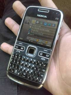Nokia e72 original smooth wifi trackpad dual cam openline