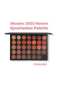 Morphe: 35O2 Second Nature Eyeshadow Palette
