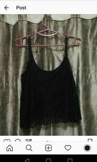 Sleeveless mesh top