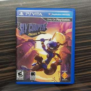 PS Vita Sly Cooper Thieves of Time