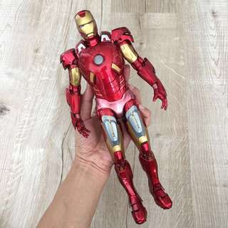 "1/6 scale 12"" Iron Man Mk7 Super Alloy By Play Imaginative. Robot Metal Die Cast suit very heavy figure"
