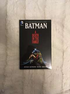 Batman death in the family comic