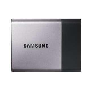 Samsung T3 Portable SSD - 1TB - USB 3.1 External SSD (MU-PT1T0B/AM)