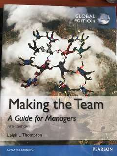 Making the Team 5th edition (global edition)