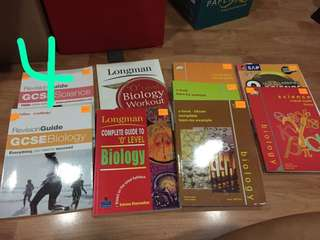 SEC/JC TEXTBOOKS&GUUDEBOOKS