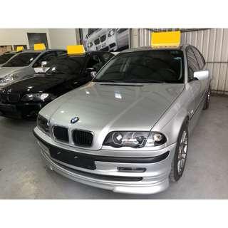 1998年 BMW寶馬 318I (銀) 2.0