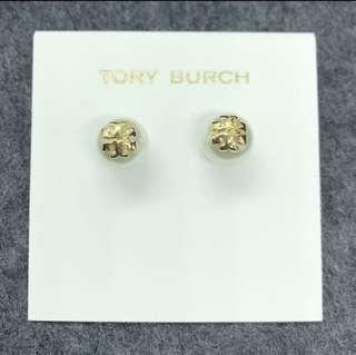 Tory Burch Earrings 珍珠logo 耳環