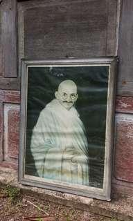 Old Mahatma Gandhi Poster