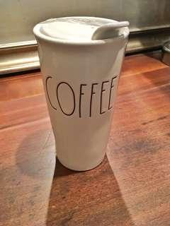 "Rae Dunn RARE and hard to find ""COFFEE"" travel mug  (I HAVE 2 ) $65"