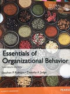 Essentials of Organisational Behavior