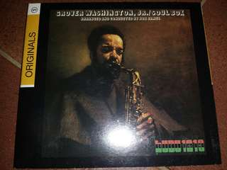 Music CD: Grover Washington, Jr.–Soul Box - Jazz